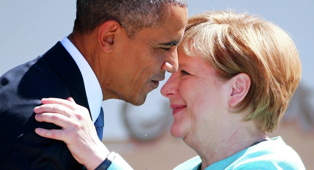 Barack Obama e Angela Merkel al G7 di giugno in Germania