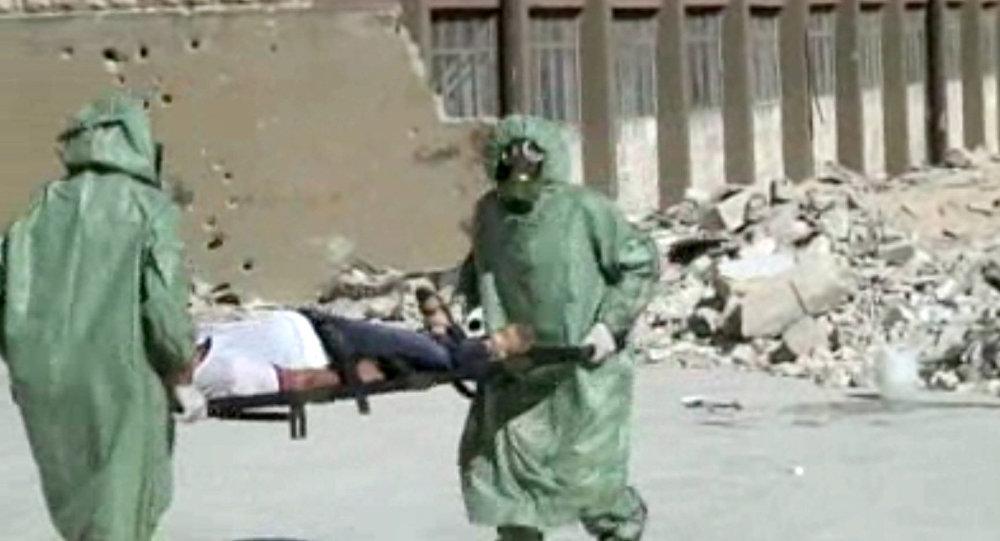 Attacco con armi chimiche