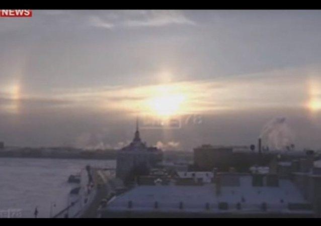 Tre soli su San Pietroburgo