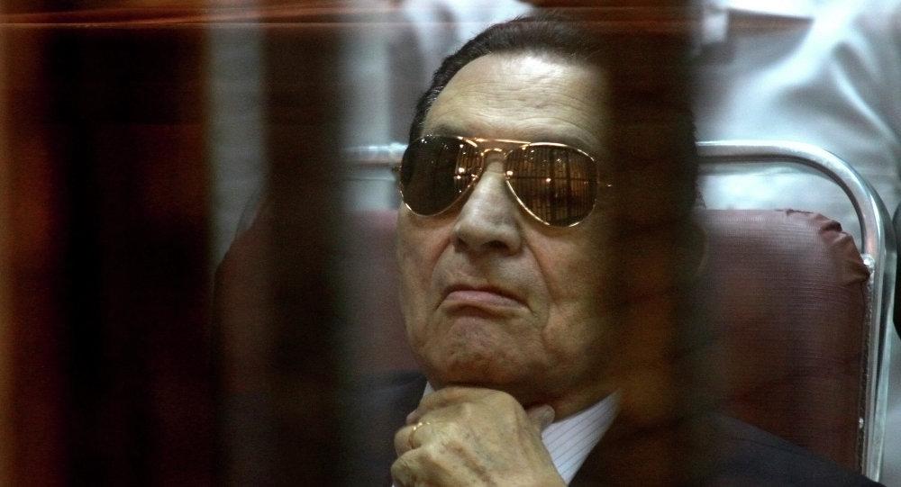 Il presidente egiziano Hosni Mubarak