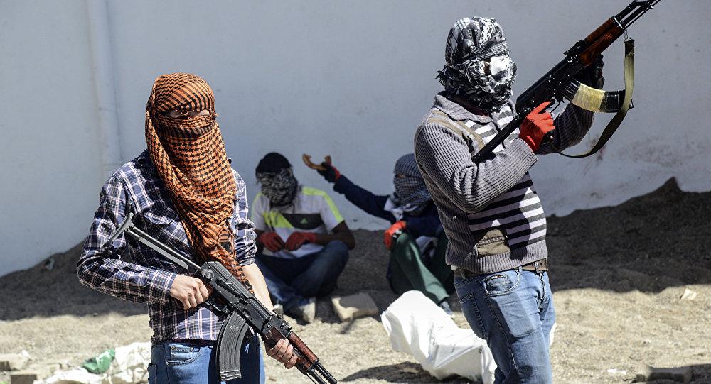 Militanti del partito curda PKK