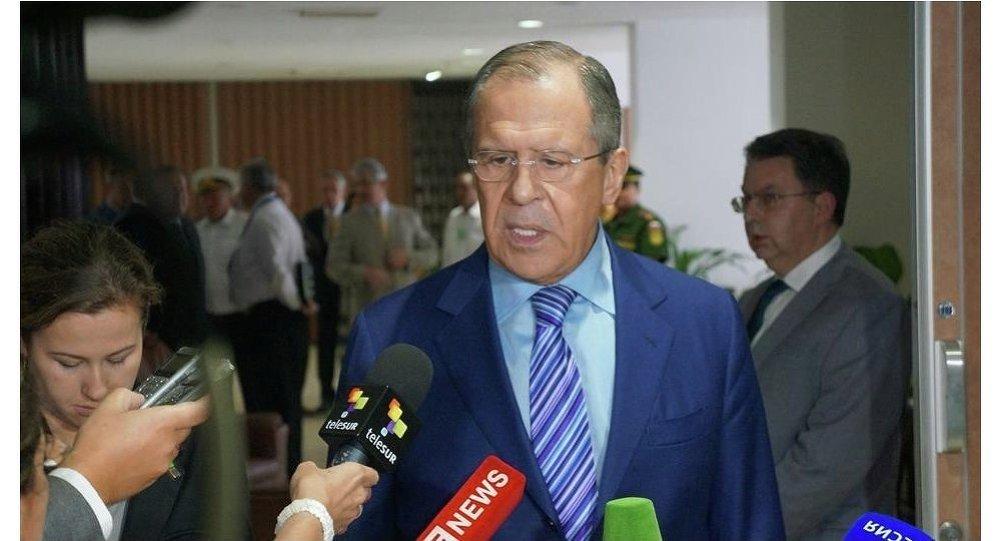 Sergej Lavrov, ministro degli Esteri