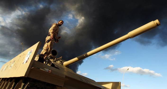 Secondo le notizie non confermate le autorità islamiche che controllano l'ovest ed in cambio del suo rientro in Italia avrebbero chiesto il riconoscimento politico del governo di Tripoli