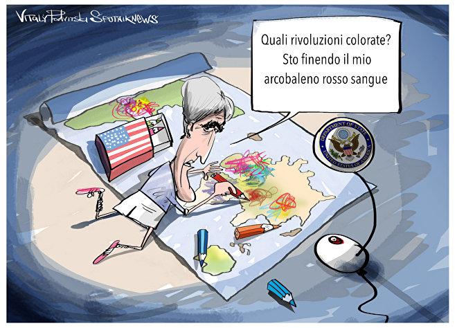 Kerry e le rivoluzioni colorate