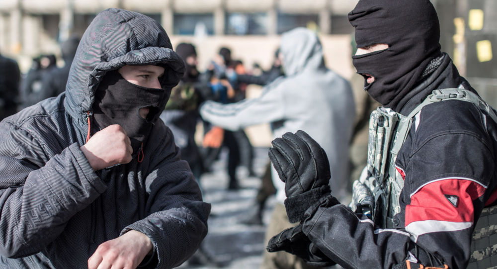 Radicali ucraini di Settore destro