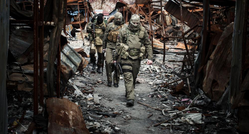 I miliziani di Donbass