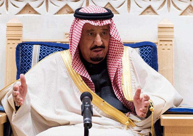 Salman bin Abdulaziz Al Saud, il re dell'Arabia Saudita.