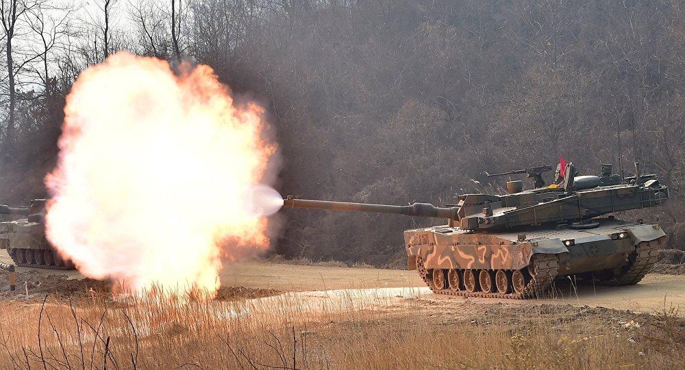 Tank sudcoreano K-2