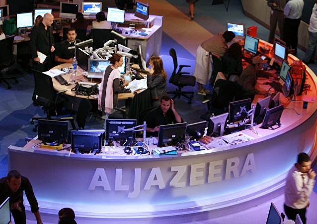 Studi di Al-Jazeera a Doha