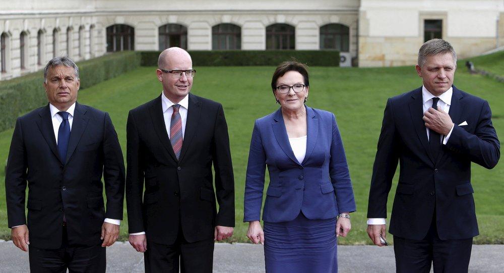Primi ministri dei Paesi del gruppo di Visegrad