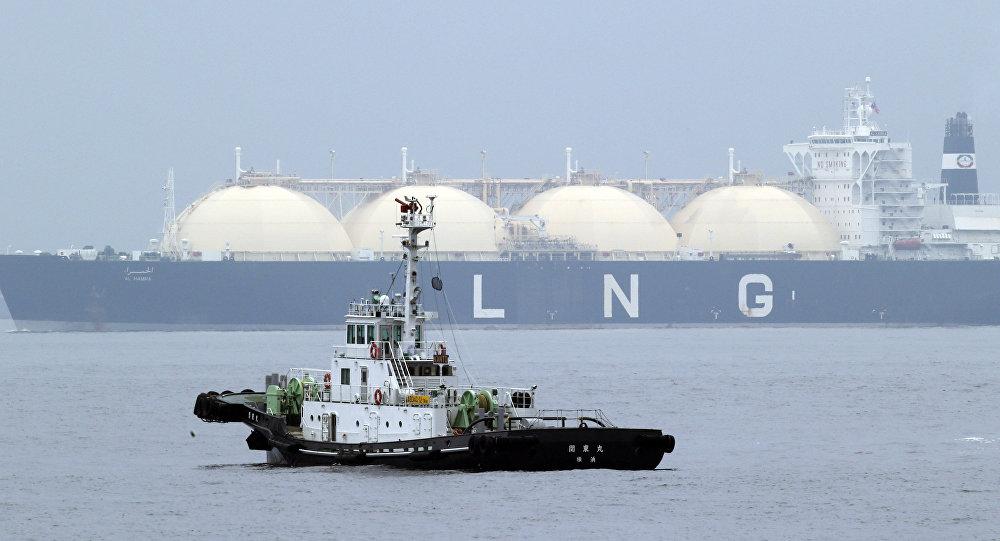 Nave cargo per il gas naturale liquefatto