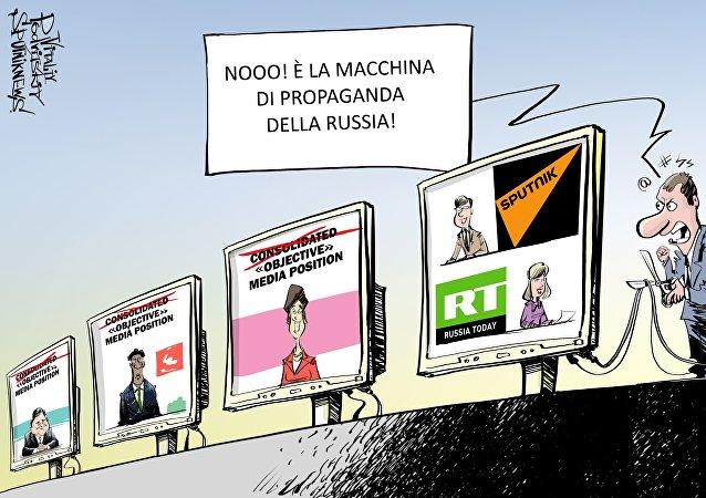 La macchina di propaganda della Russia