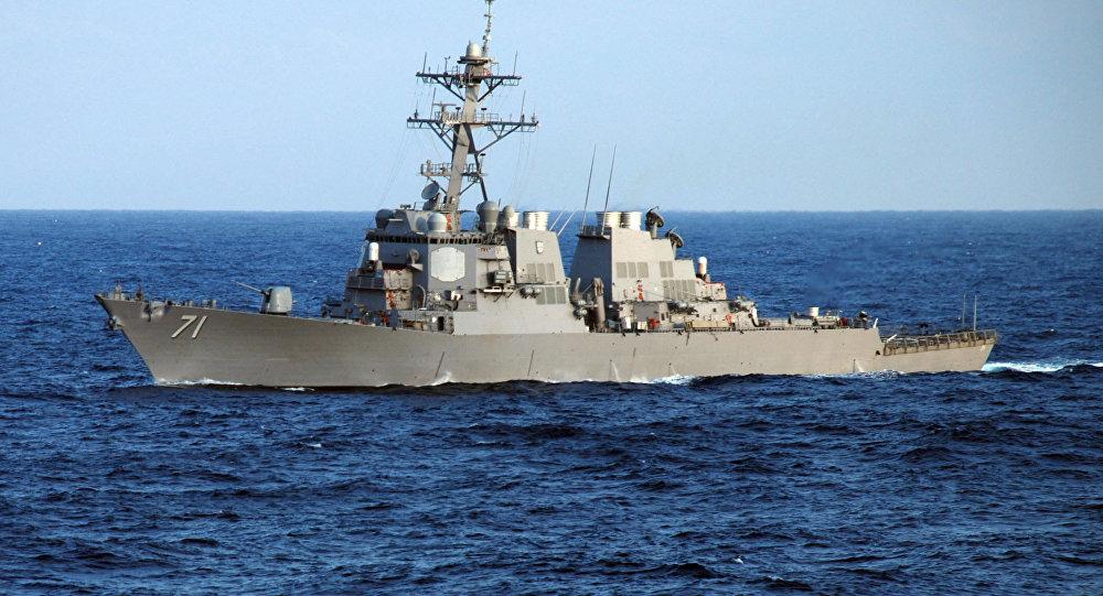 Cacciatorpediniere della Marina USA