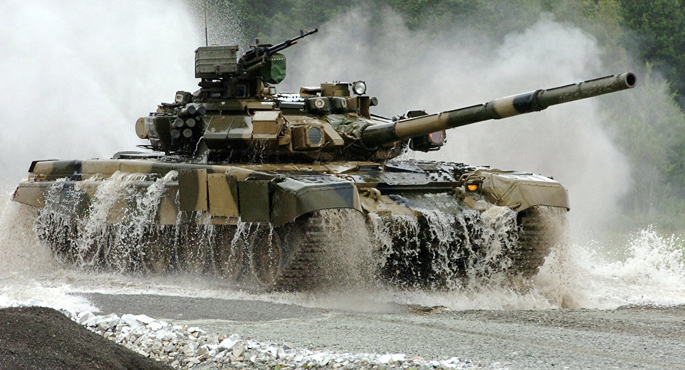 Tank russo T-90S