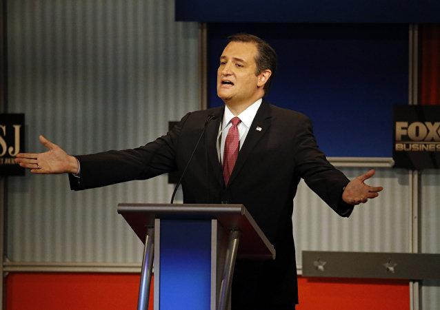 Il senatore texano Ted Cruz