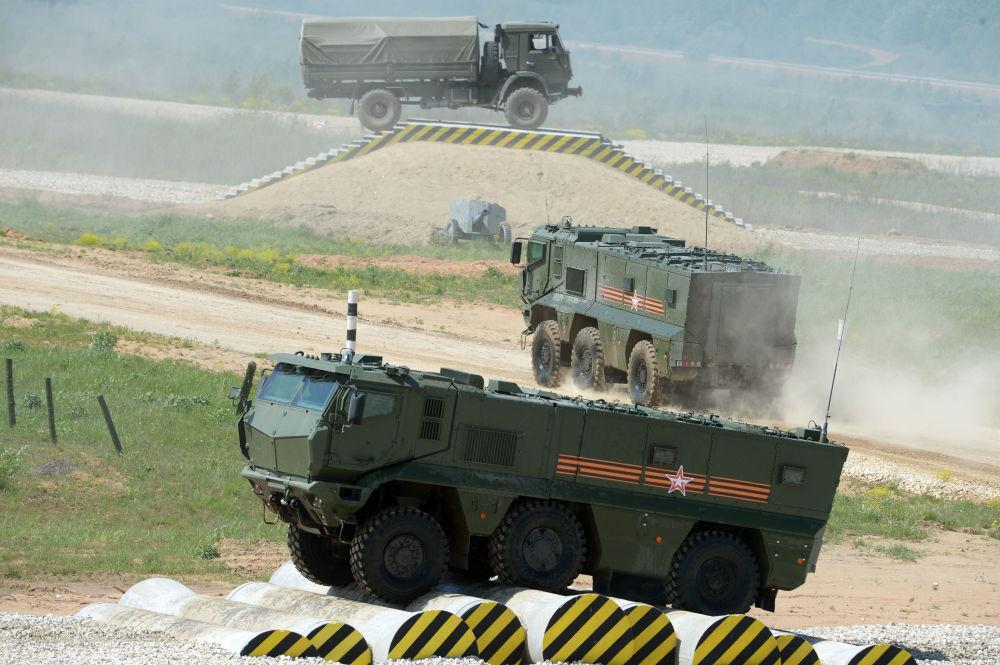 Un veicolo blindato Tajfun-K