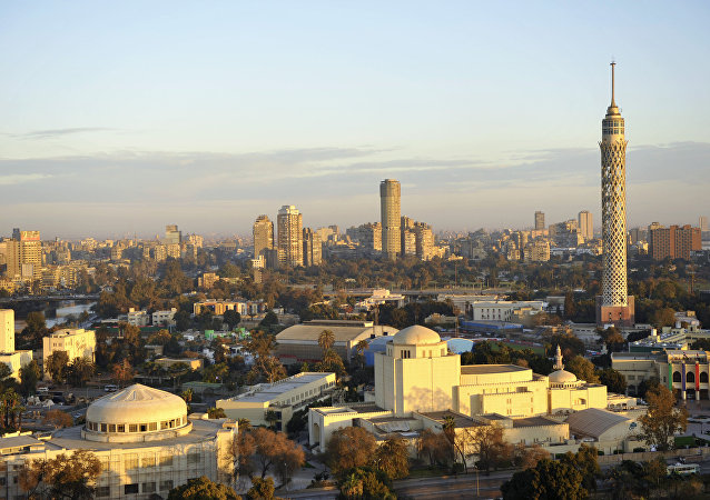Una vista di Cairo