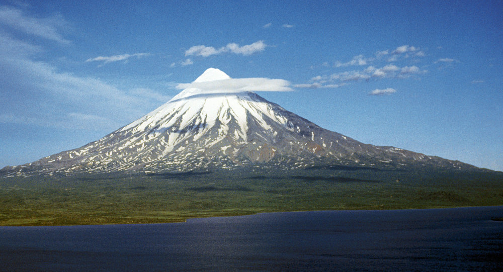 Vulcano in Kamchatka