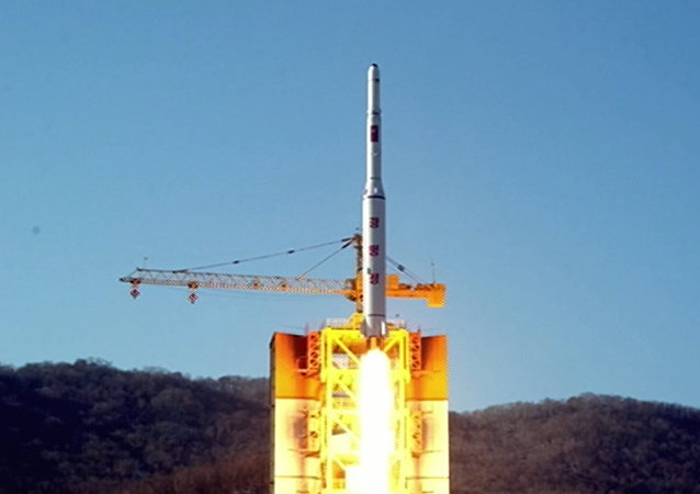North Korea's rocket launch of earth observation satellite Kwangmyong 4