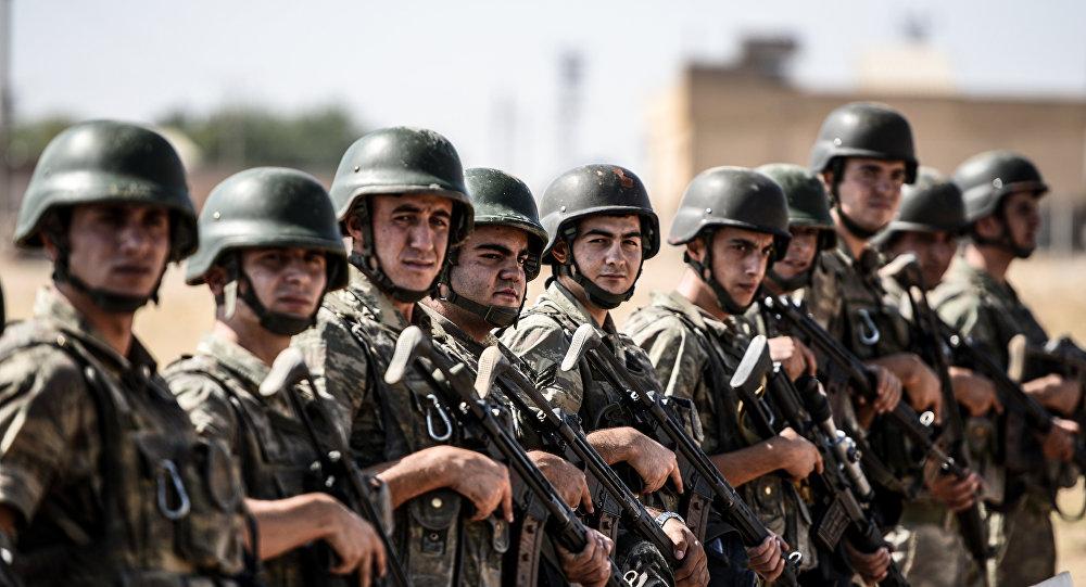 Soldati turchi (foto d'archivio)