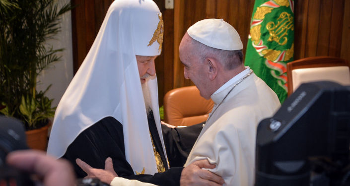 Il patriarca Kirill e il papa Francesco