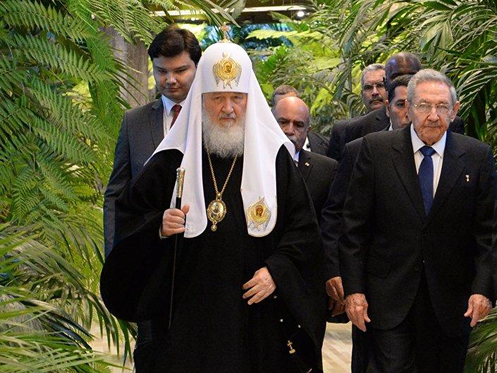 Il patriarca di Mosca e tutte le Russie Kirill a Cuba