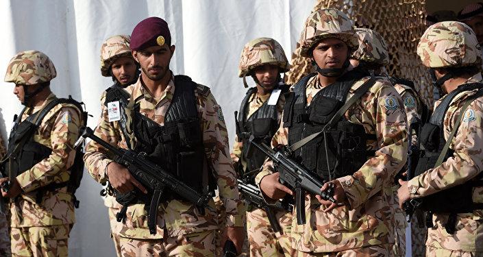 Forze speciale dell'Arabia Saudita (foto d'archivio)
