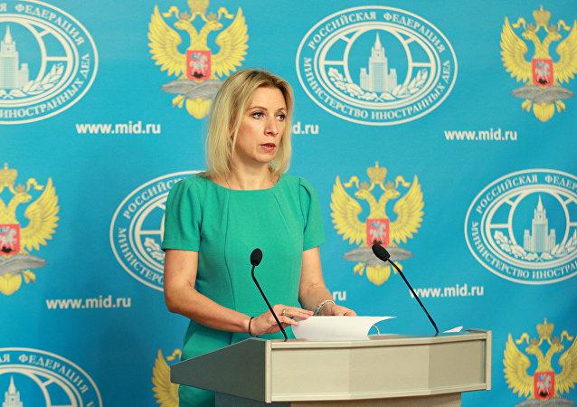 Maria Zakharova (foto d'archivio)