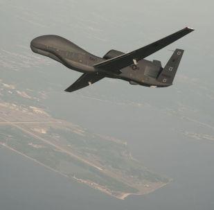 Drone americano RQ-4 Global Hawk