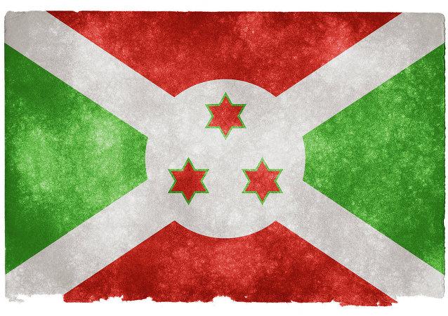 Burundi Grunge Flag