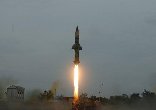 Missile indiano Prithvi-II
