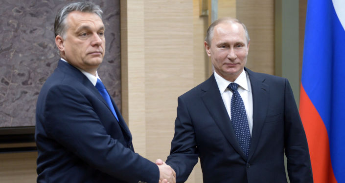 Viktor Orban e Vladimir Putin