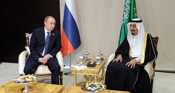 Putin e re saudita Salman bin Abdulaziz Al Saud