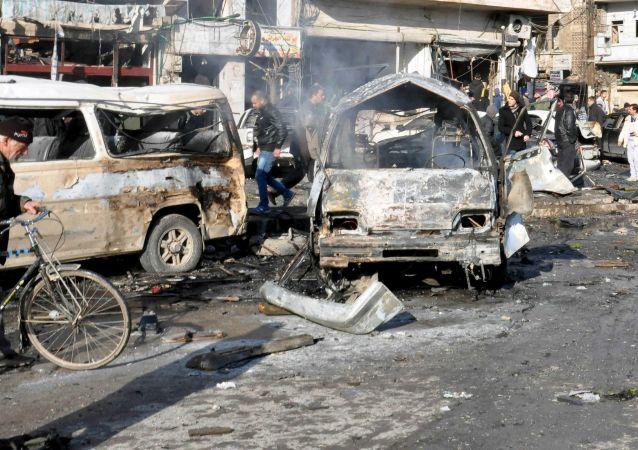 Attentato Homs, Siria