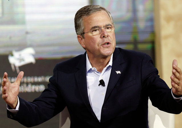 Republican presidential candidate, former Florida Governor Jeb Bush