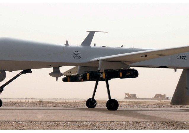 Drone americano (foto d'archivio)