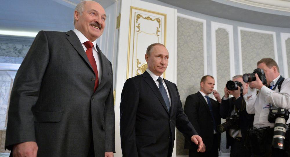 Lukashenko e Putin