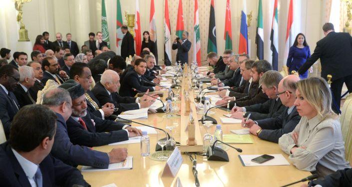 Incontro di Lavrov con Lega Araba