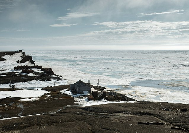 The Uyedineniya Island (Lonely Island) polar station in the Kara Sea opened in 1934 and closed in 1996