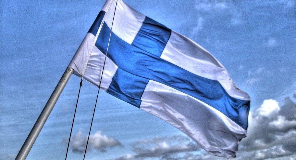 La bandiera finlandese