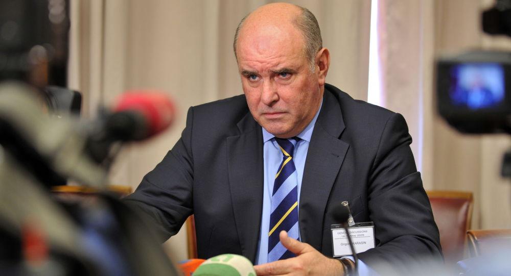 Vice ministro degli Esteri della Russia Grigory Karasin