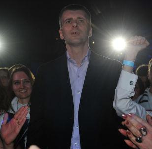 Il milliardario russo Michail Prochorov