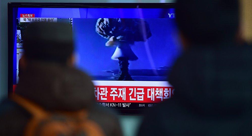 Test della prima bomba all'idrogeno della Corea del Nord