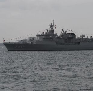 Fregata della Marina militare della Turchia