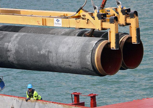 Costruzione di un gasdotto