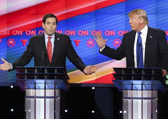 Marco Rubio e Donald Trump