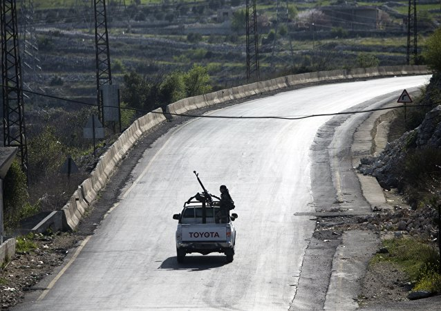 Soldati siriani vicino a Latakia