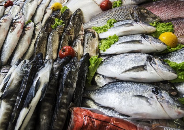 Pesce al mercato