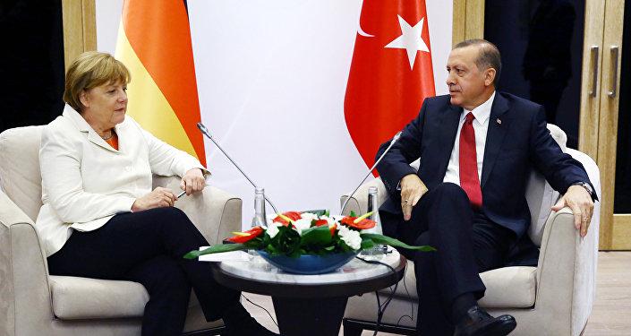 Merkel e Erdogan
