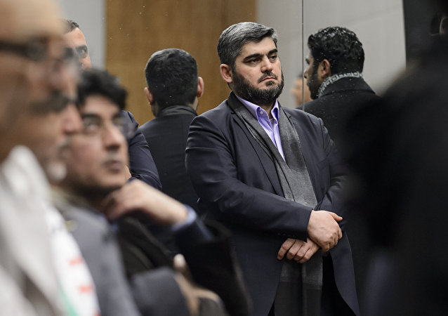 Rappresentanti dell'opposizione moderata in Siria